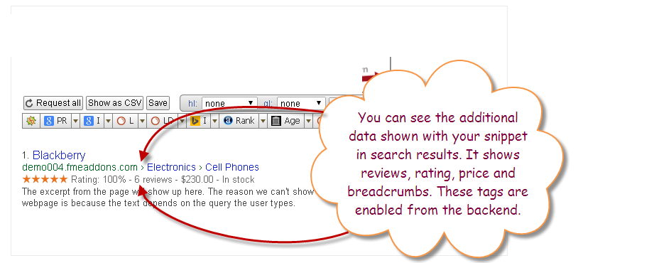 Rich Snippets Help Increasing Ecommerce Sales:  Answers To Why And How!