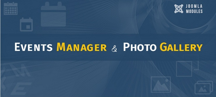 Joomla Photo Gallery & Events Manager – Fresh Releases By Fme