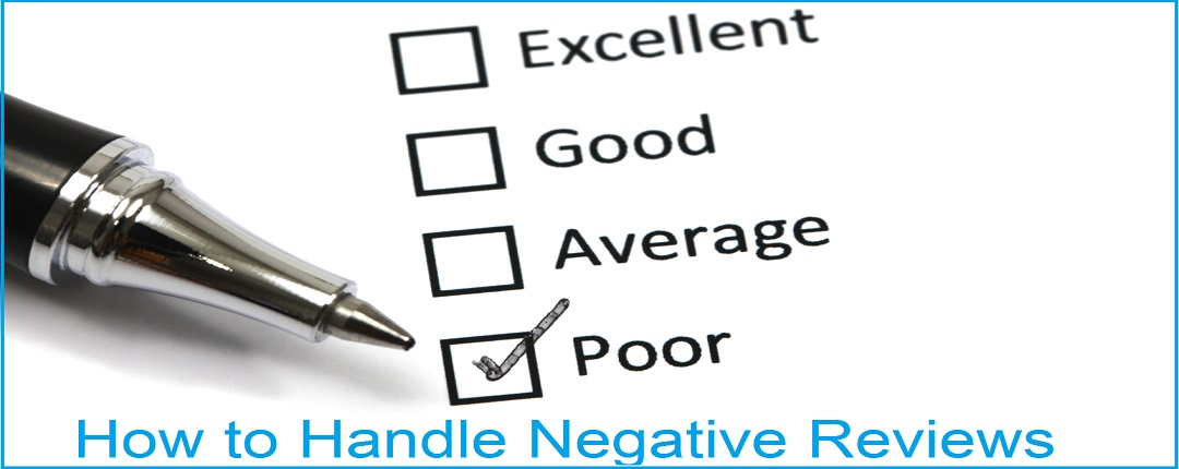 How to Handle Negative Customers Reviews - Tips and Tricks