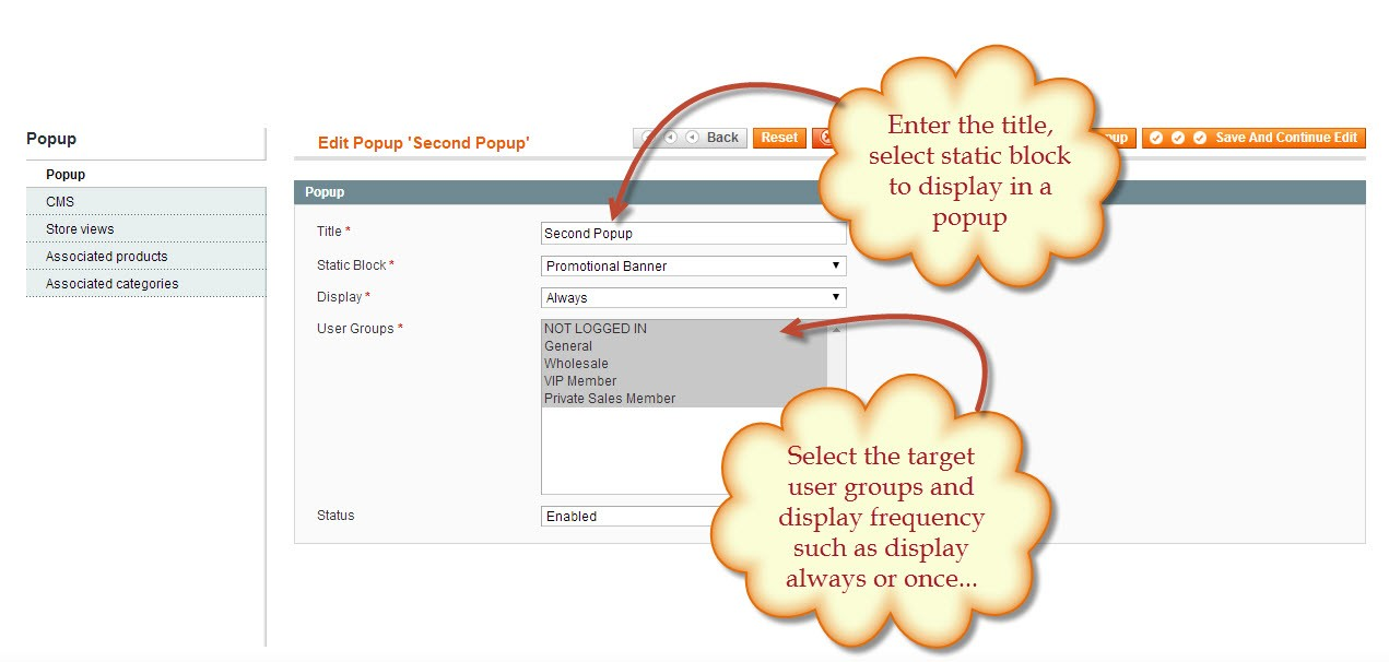 How to Display Pop-ups by Using Magento Popup Extension? / FmeAddons