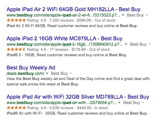 •	Capitalize on rich snippets