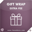 Gift Wrap / Extra Fee Magento Extension