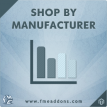 Magento Shop By Manufacturer Extension