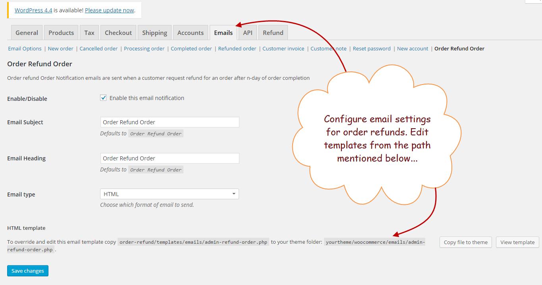 Woocommerce Returns Plugin Refund Orders System