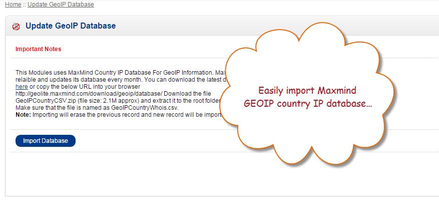 Geo-Ip Default Store