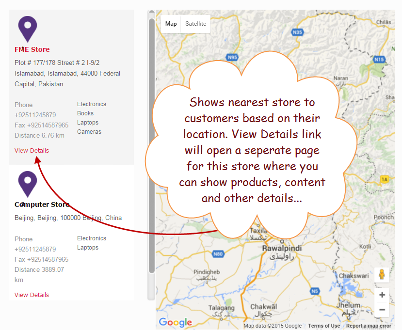 Woocommerce Store Locator Google Maps Plugin