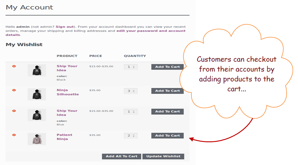 """409e2e18b87b4 Allows your customer to save particular items in their wishlists, which  they can buy later. Woocommerce wishlist plugin will add a button """"Add to  Wishlist"""" ..."""