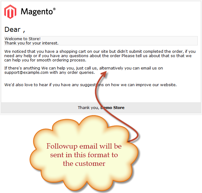 Magento Follow Up Emails