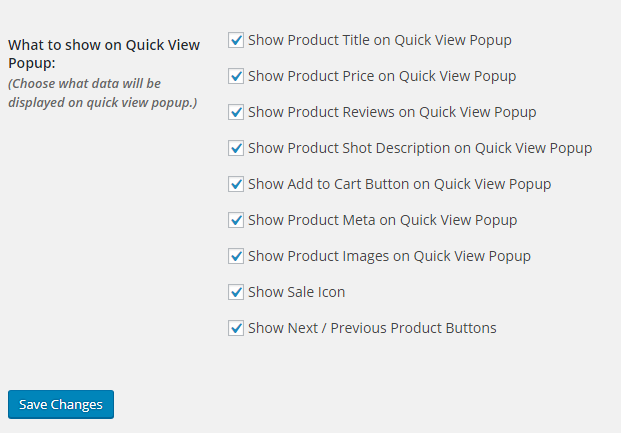 WooCommerce Product Quick View Plugin 5